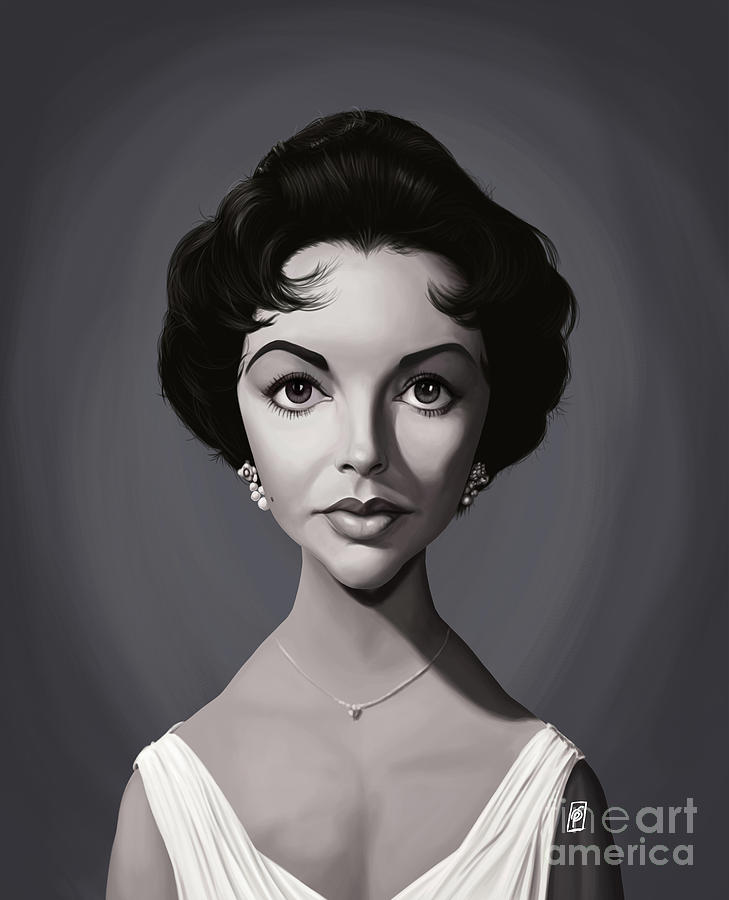 Celebrity Sunday - Elizabeth Taylor by Rob Snow