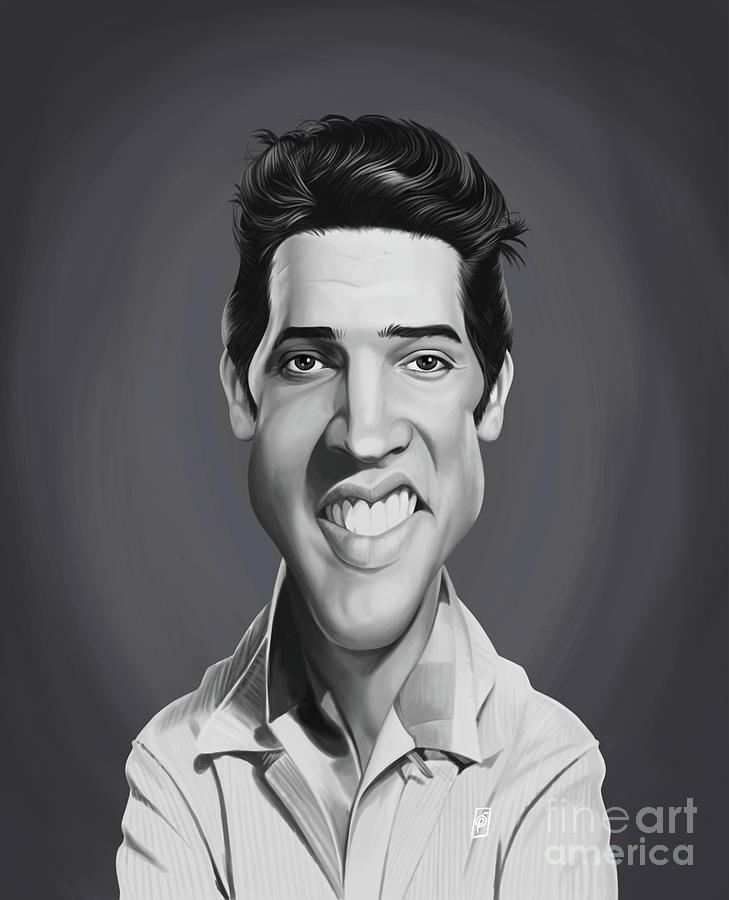 Celebrity Sunday - Elvis Presley by Rob Snow