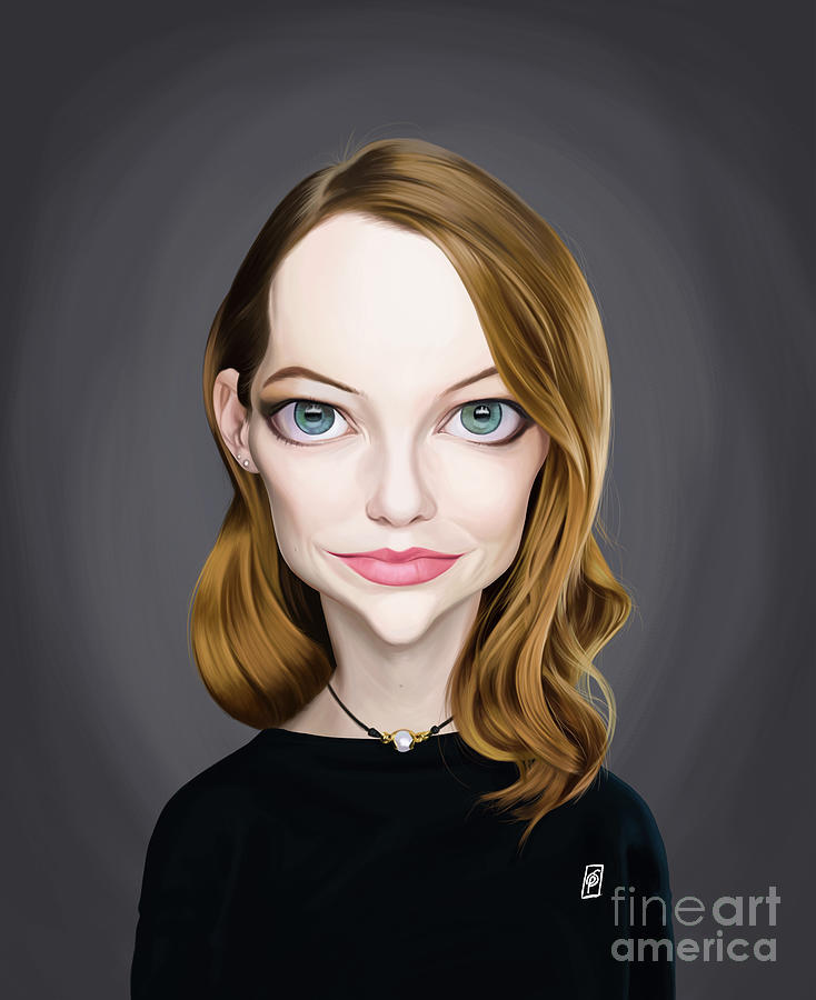 Celebrity Sunday - Emma Stone by Rob Snow