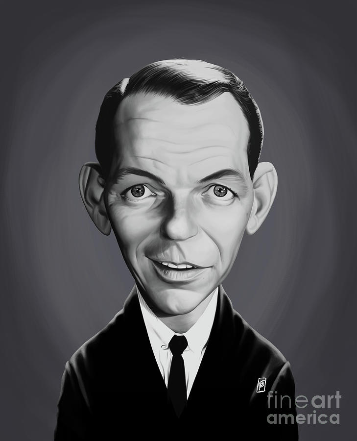 Celebrity Sunday - Frank Sinatra by Rob Snow