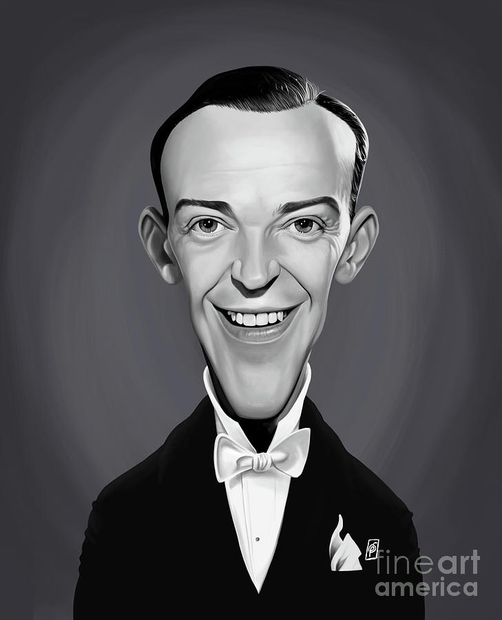 Celebrity Sunday - Fred Astaire by Rob Snow