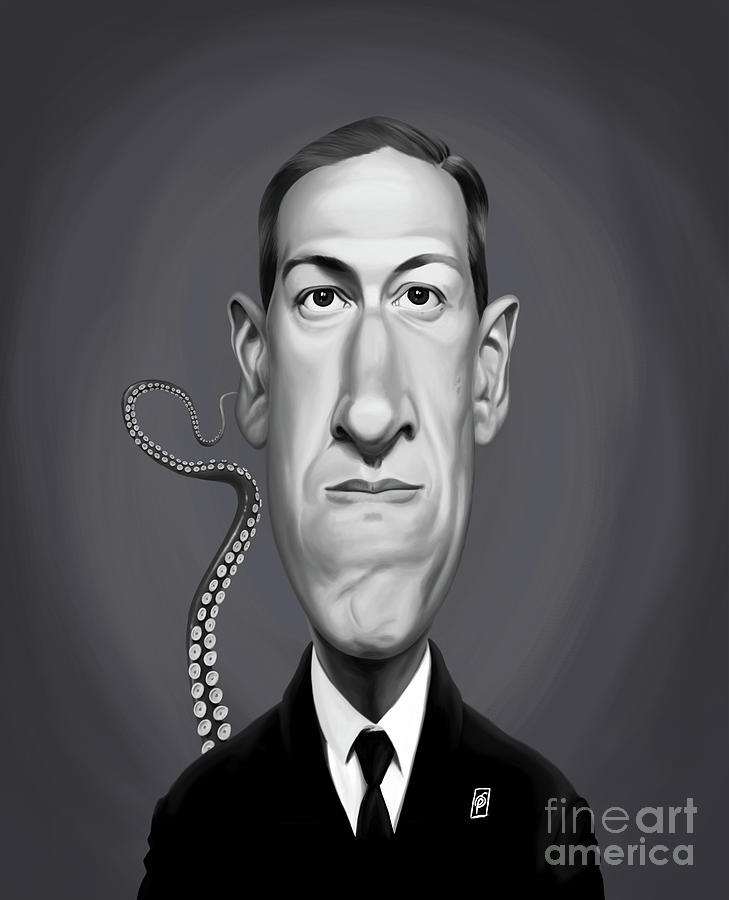 Celebrity Sunday - H.P Lovecraft by Rob Snow