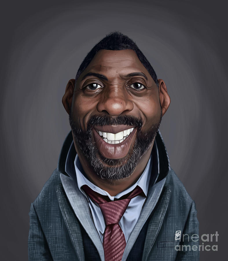 Celebrity Sunday - Idris Elba by Rob Snow