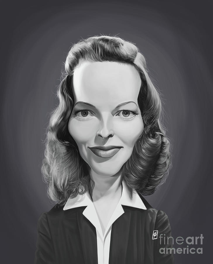 Celebrity Sunday - Katharine Hepburn by Rob Snow