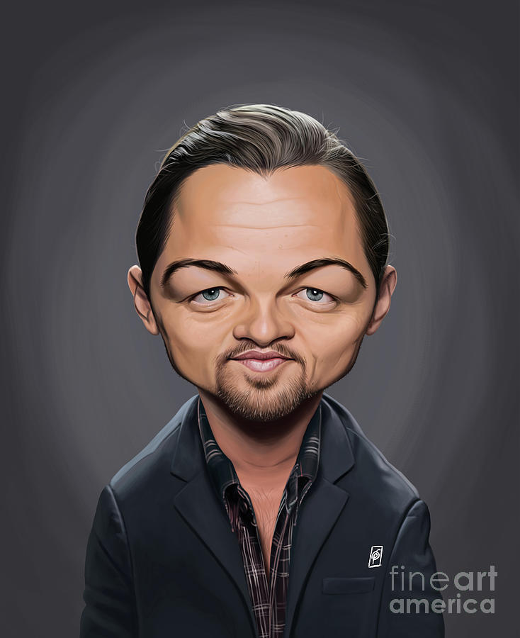 Celebrity Sunday - Leonardo Dicaprio by Rob Snow