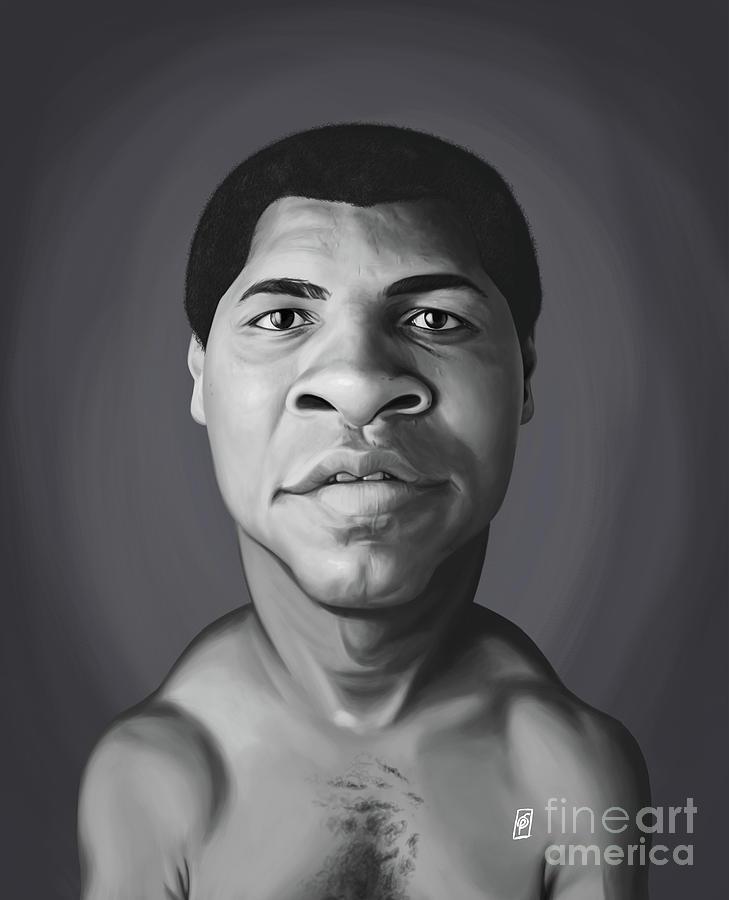 Celebrity Sunday - Muhammad Ali by Rob Snow