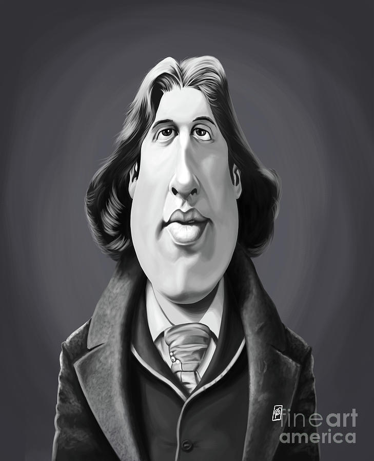 Celebrity Sunday - Oscar Wilde by Rob Snow