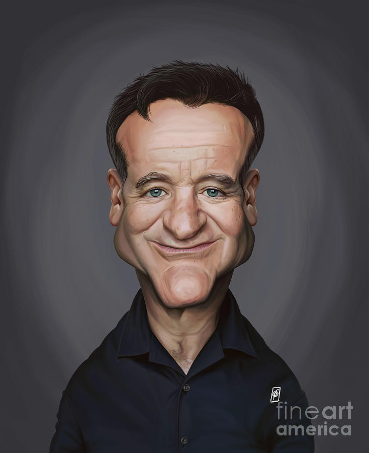 Celebrity Sunday - Robin Williams by Rob Snow