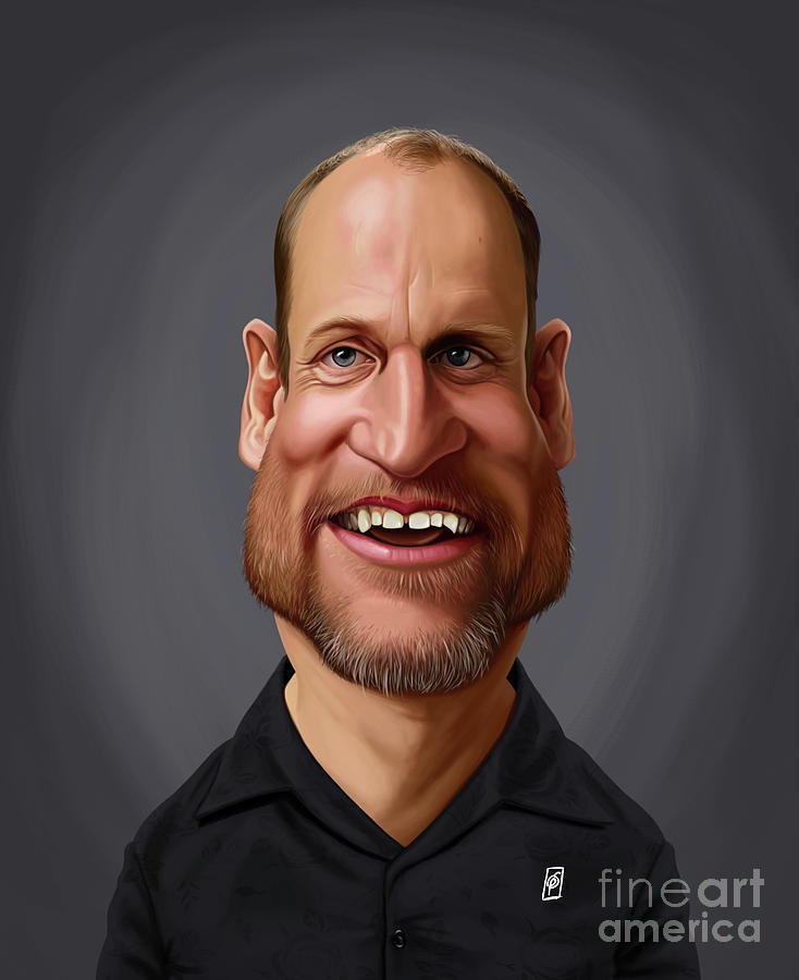 Celebrity Sunday - Woody Harrelson by Rob Snow