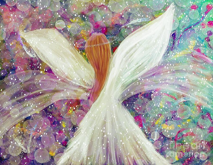 Celestial Guardian Angel Art Digital Art