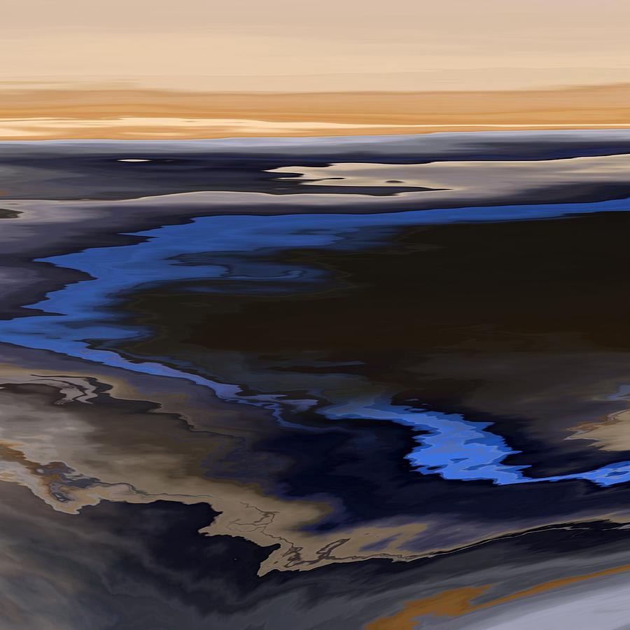 Michal Painting - Celestial Horizon 66 by Michal Mitak