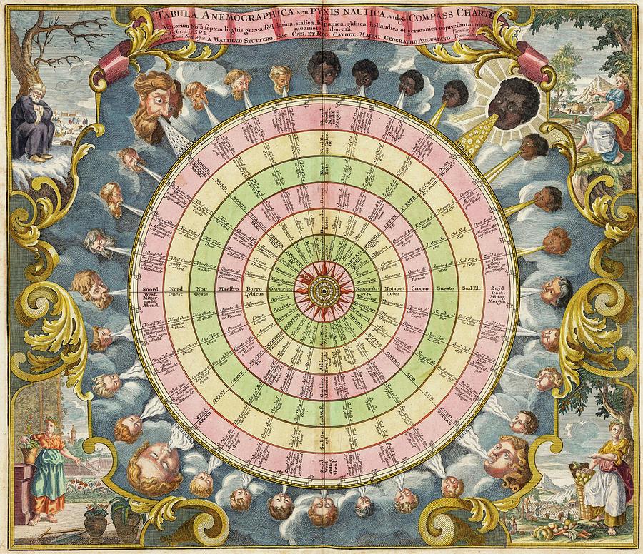 Cellarius Painting - Celestial Map by Andreas Cellarius