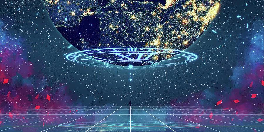 Celestial Mixed Media - Celestial by Seerlight
