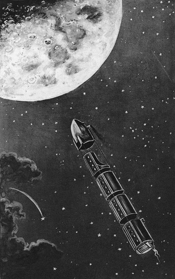 Celestial Travel Digital Art by Hulton Archive