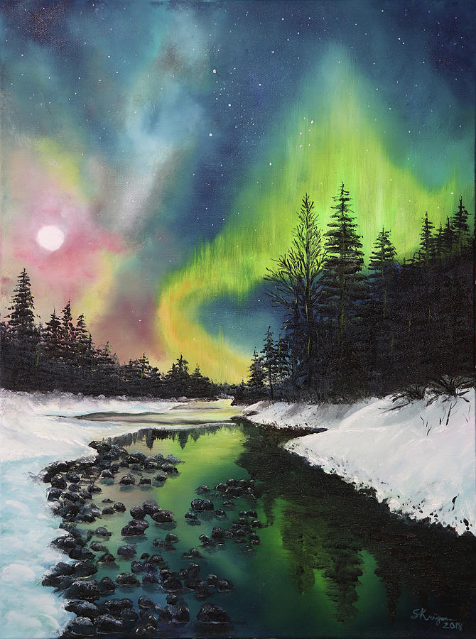 Celestial Veils by Stephen Krieger