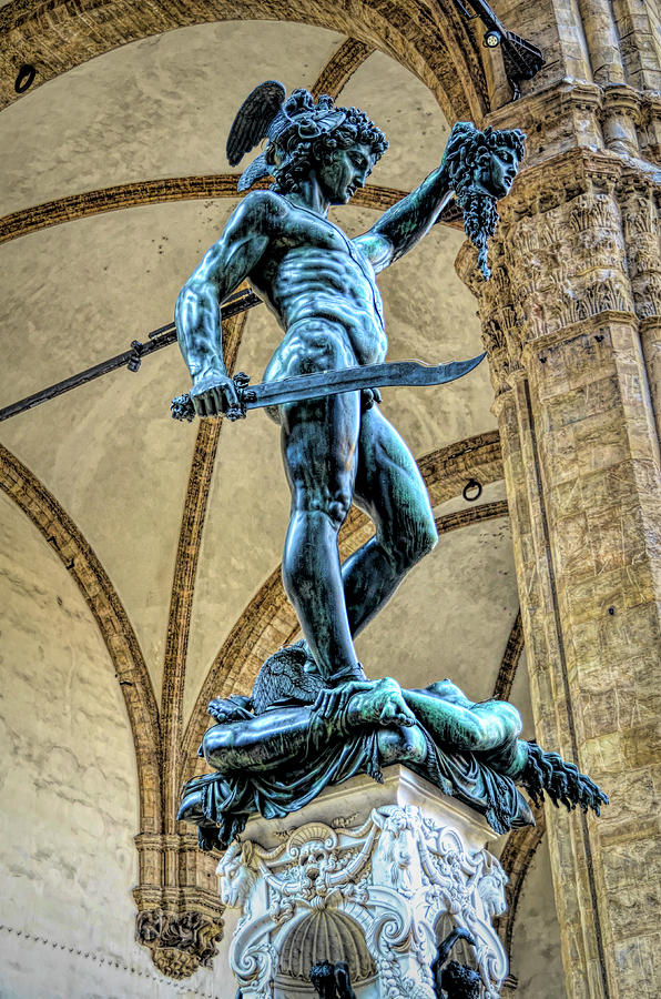 Cellini S Perseus With The Head Of Medusa