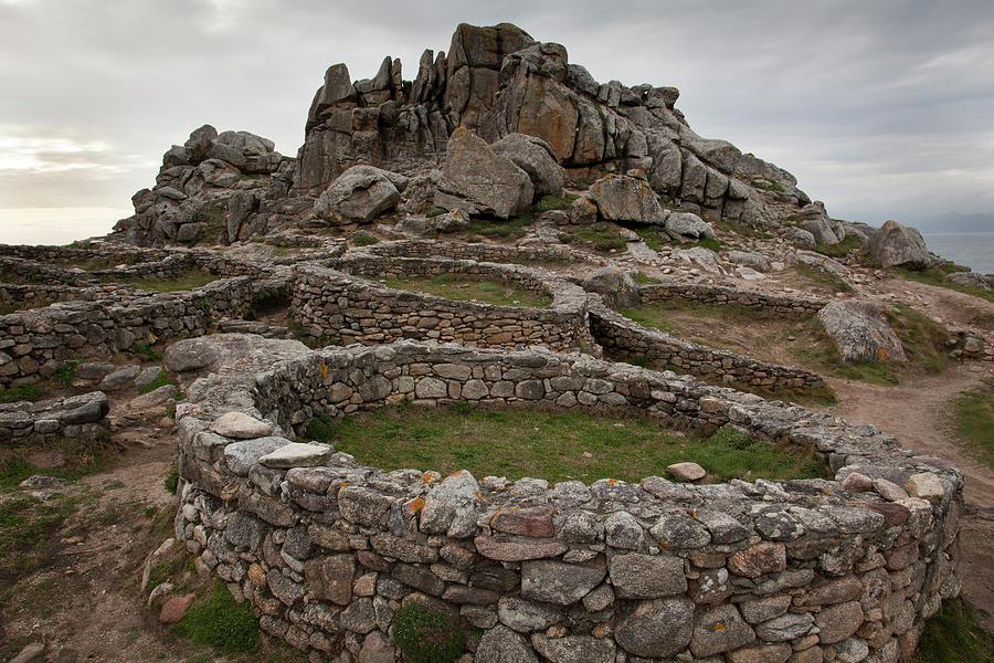 Galicia Photograph - Celtic Castro De Baroña by © Santiago Urquijo