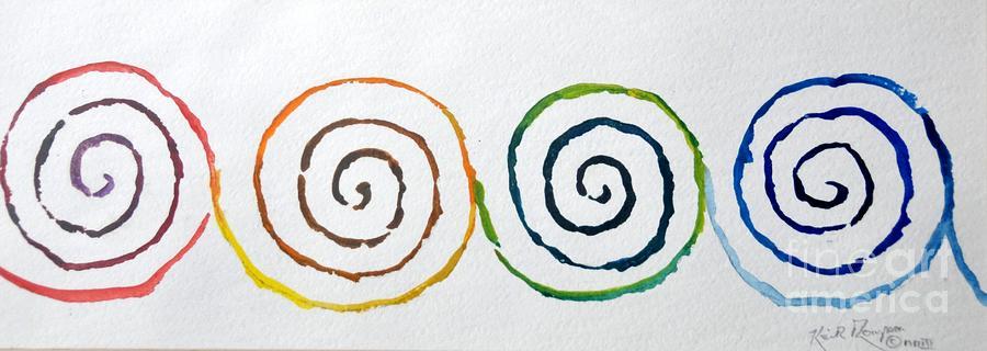 Celtic Spirit Painting - Celtic Spirit by Keith Thompson