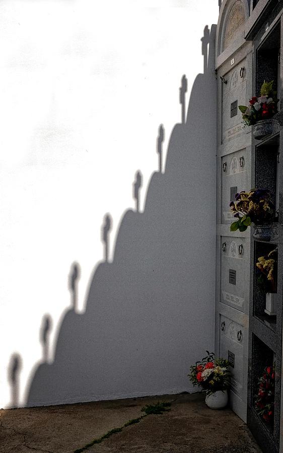 Cemetery Crosses by Tom Singleton