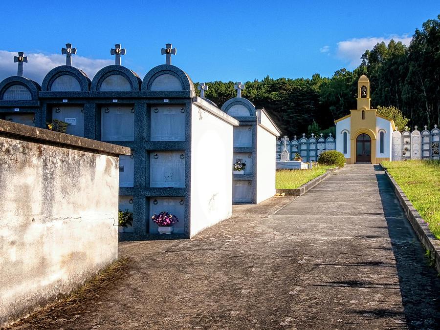 Cemetery Path by Tom Singleton