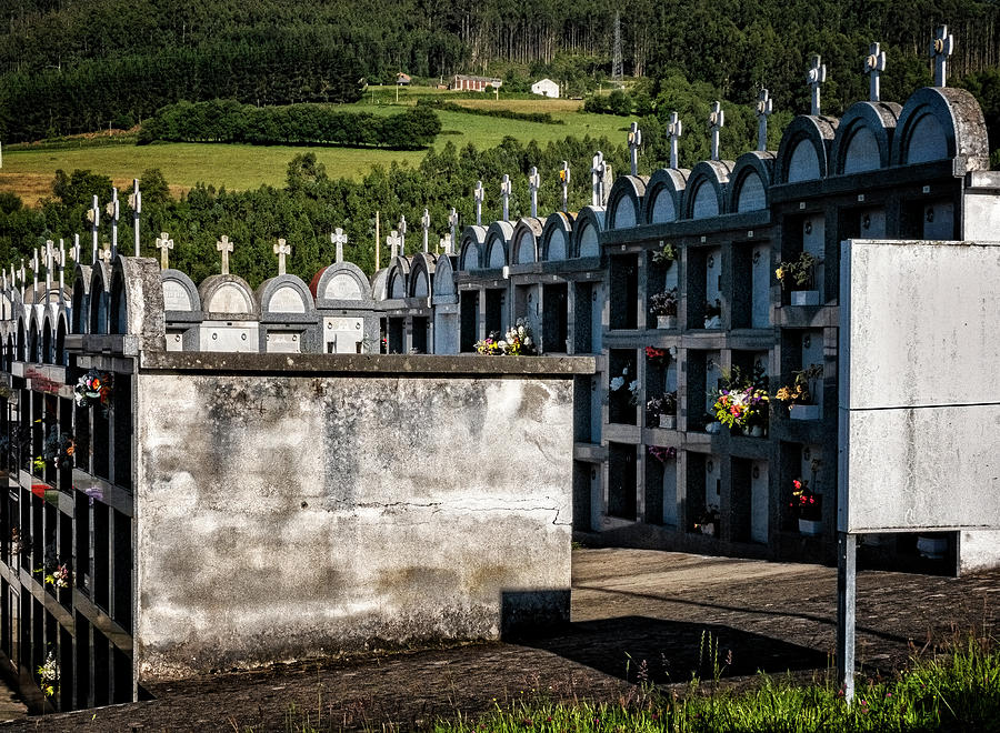 Cemetery Vaults by Tom Singleton