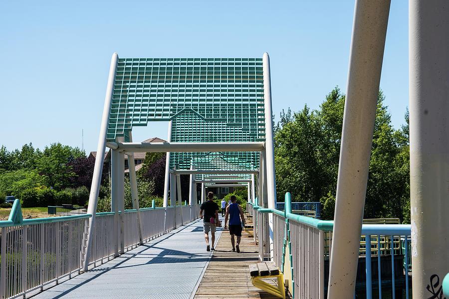 Centennial Trail Bridge by Tom Cochran