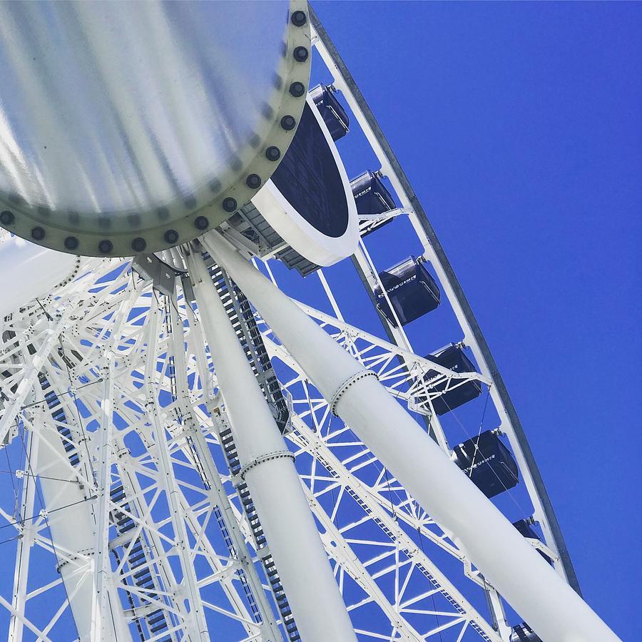 Centennial Wheel At Navy Pier Photograph