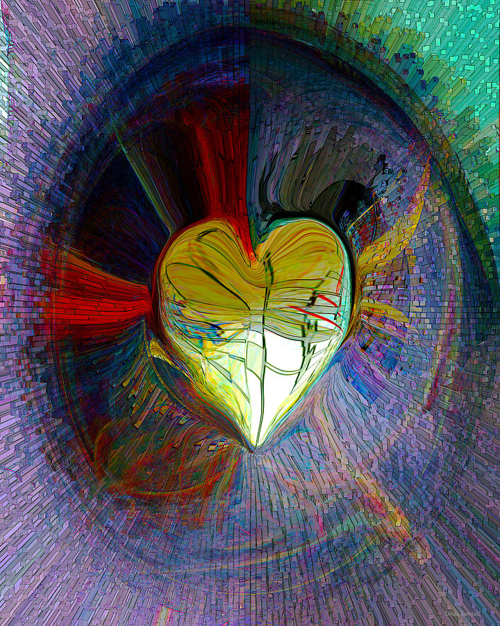 Center Of The Heart by Linda Sannuti