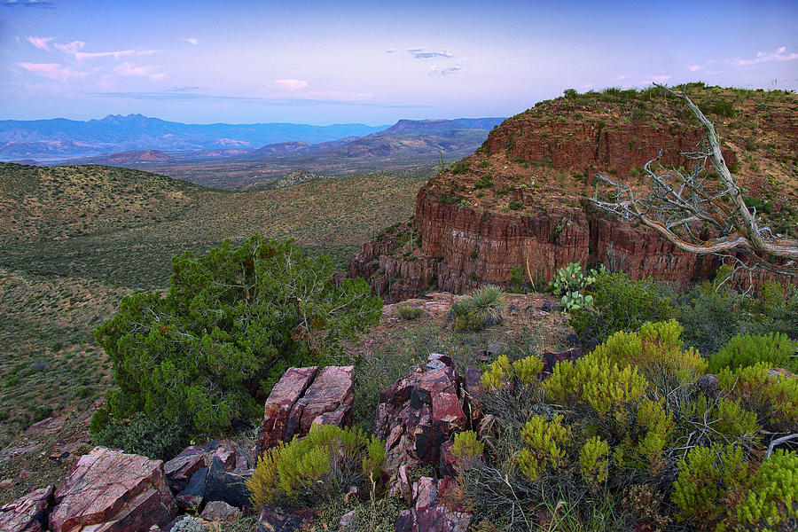 Central Arizona Canyons at Sunrise by Dave Dilli