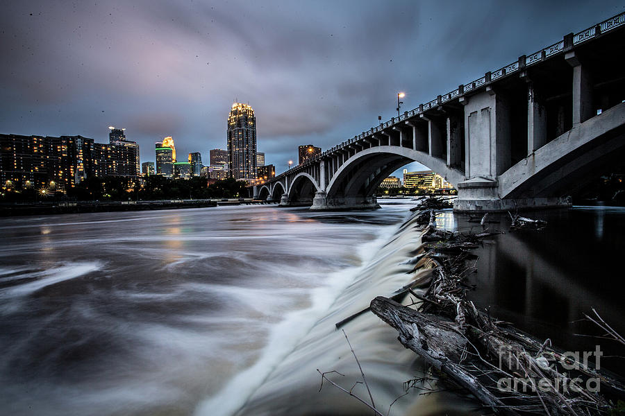 Central Ave Bridge Falls by Habashy Photography