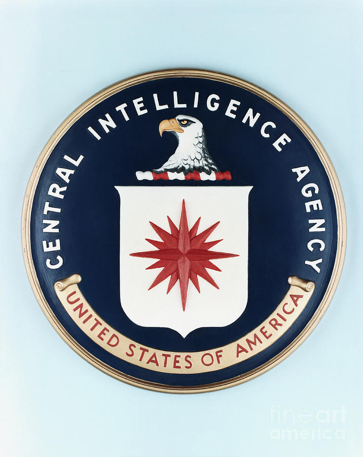 Central Intelligence Agency Seal Photograph by Bettmann