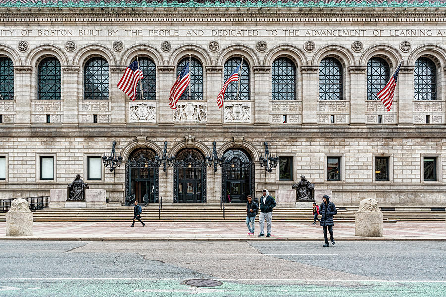 Central Library Boston by Sharon Popek
