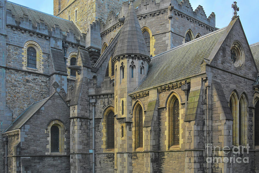 Central Nave, Christ Church Cathedral, Dublin, Ireland by Rebecca Carr