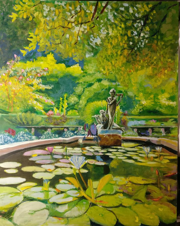 Central-Park-Conservatory-Garden by Nicolas Bouteneff