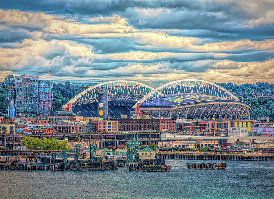 Century Link Field by Darryl Brooks
