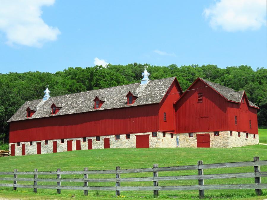 Barns Photograph - Century Old Barn  by Lori Frisch