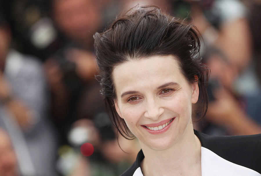 Certified Copy - Photocall Cannes Film Photograph by Sean Gallup