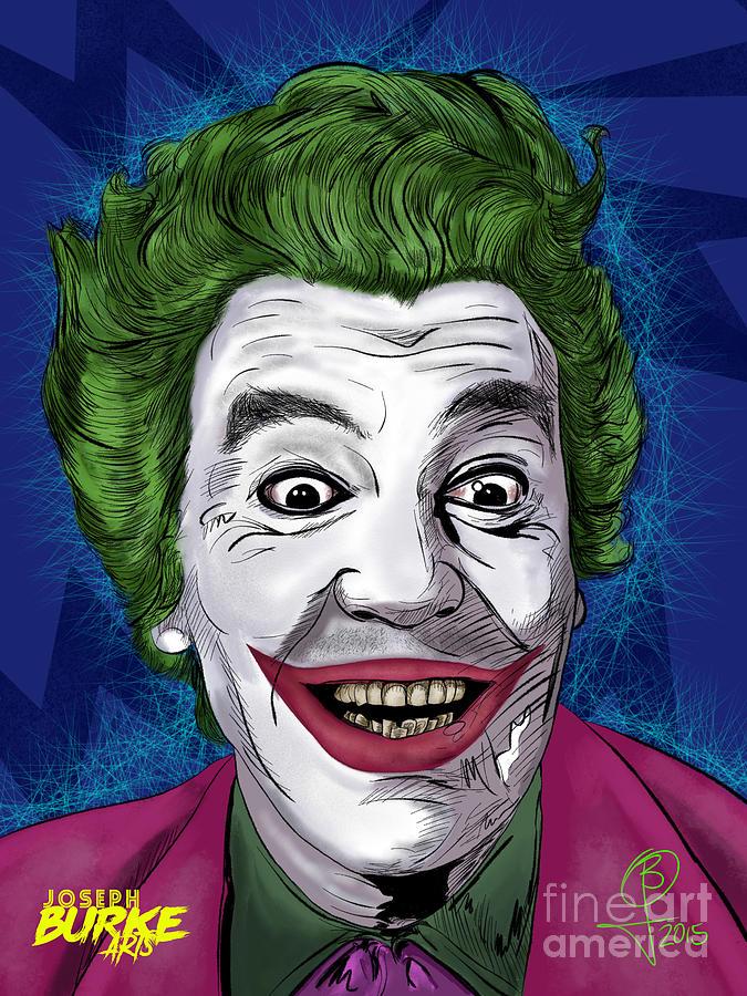 Cesar Romero Painting - Cesar Romeros Joker by Joseph Burke