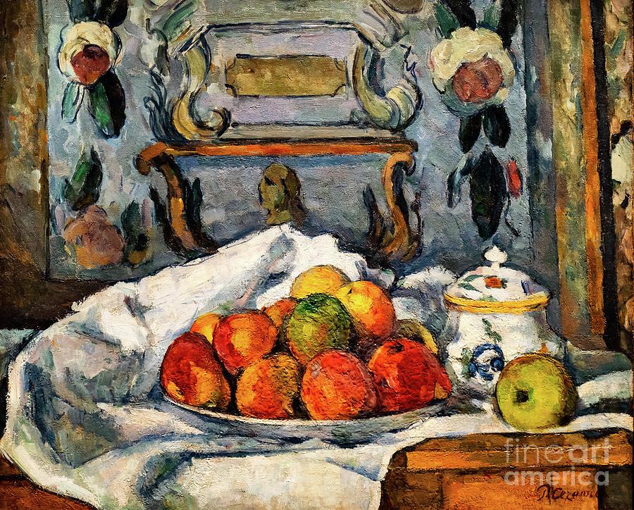 Cezanne Dish of Apples by Paul Cezanne