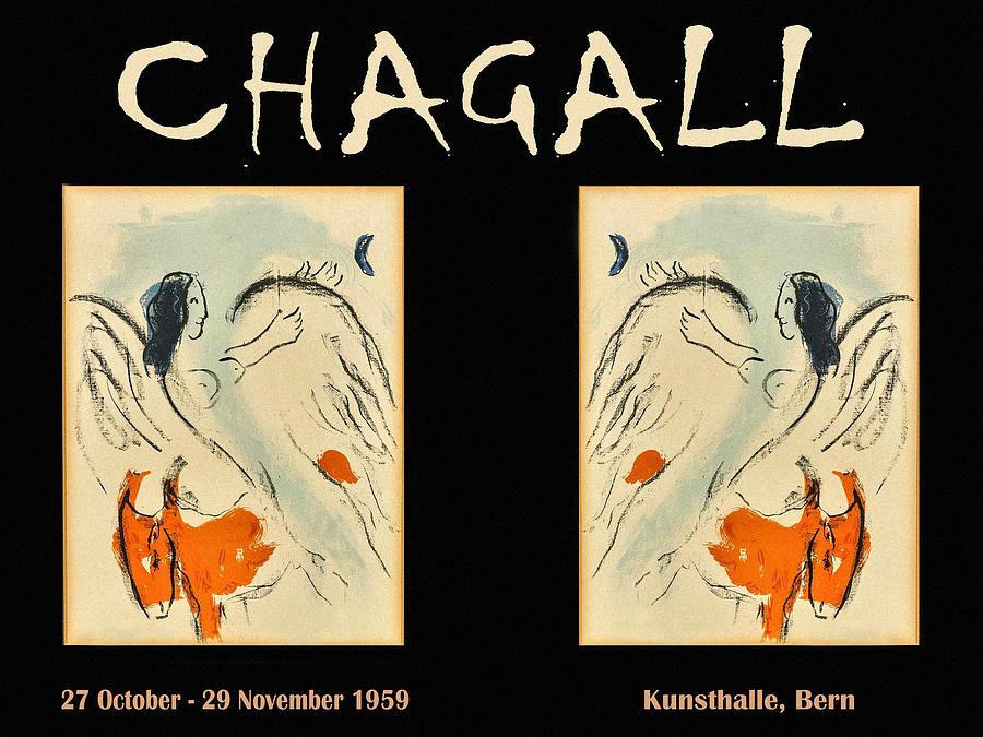 Chagall Exhibition 1959 Photograph