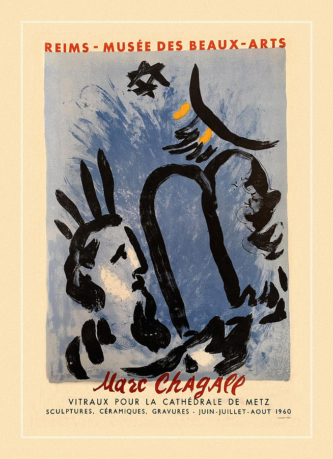 Chagall Exhibition 1960 by Andrew Fare