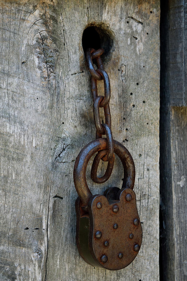 Chain and Lock by Karen Harrison