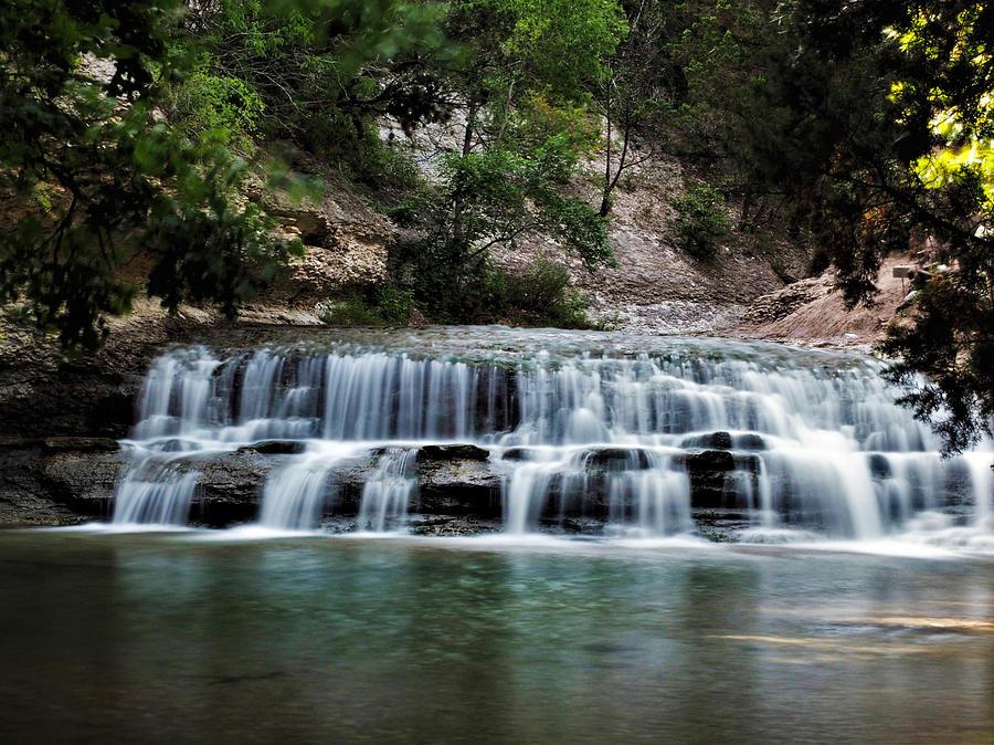 Chalk Ridge Falls Park Photograph