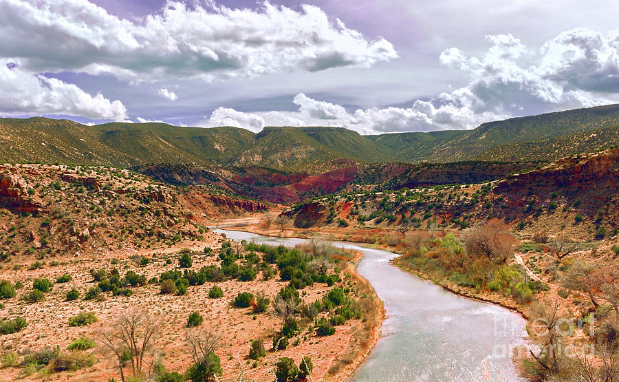 Chama River, Mid Afternoon by Susan Warren