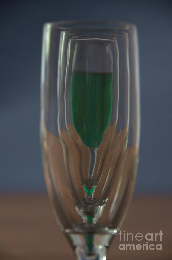Champagne Glasses by Steve Edwards