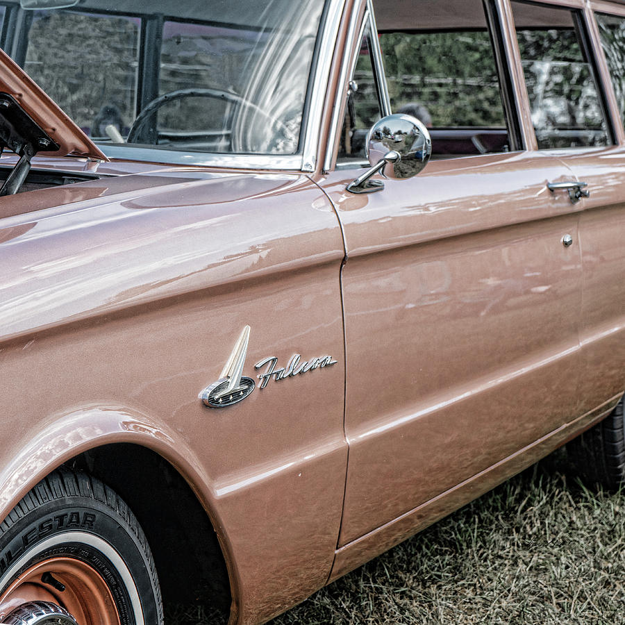 Champagne Ford Falcon by Sharon Popek