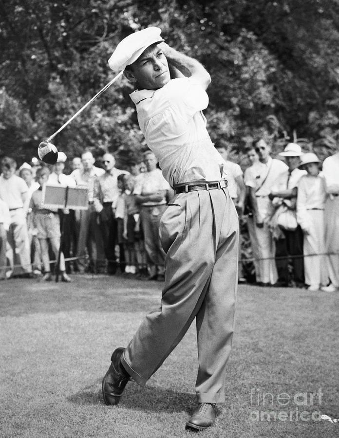 Champion Golfer Ben Hogan Photograph by Bettmann