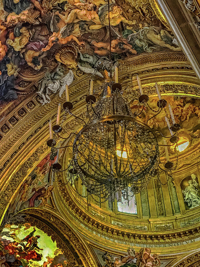 Argentina Photograph - Chandelier by Joseph Yarbrough