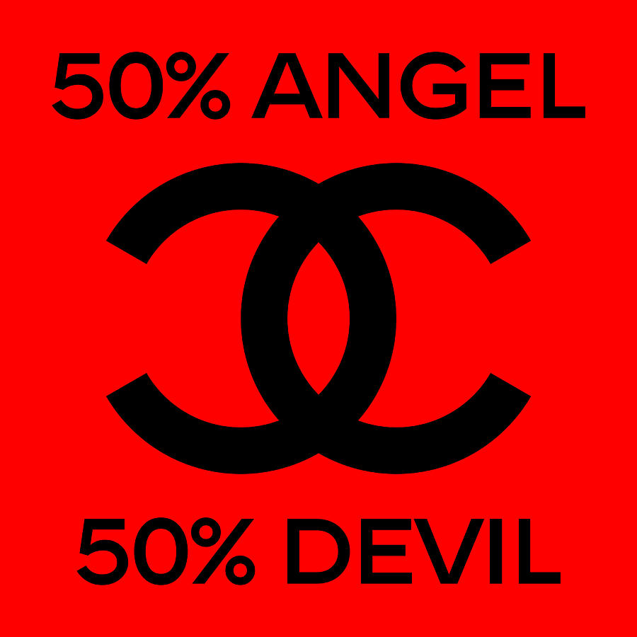 Chanel Painting - Chanel Angel Or Devil-5 by Nikita
