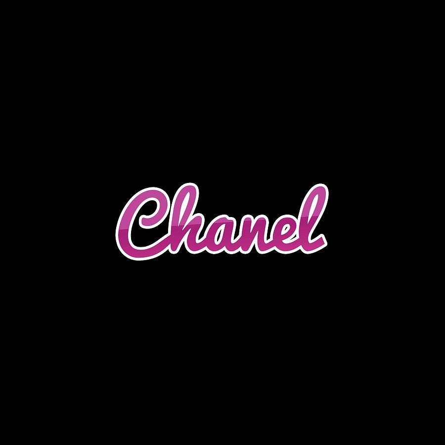 Chanel Digital Art - Chanel #chanel by TintoDesigns